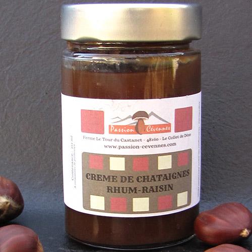 Crème de Châtaigne Rhum-Raisin