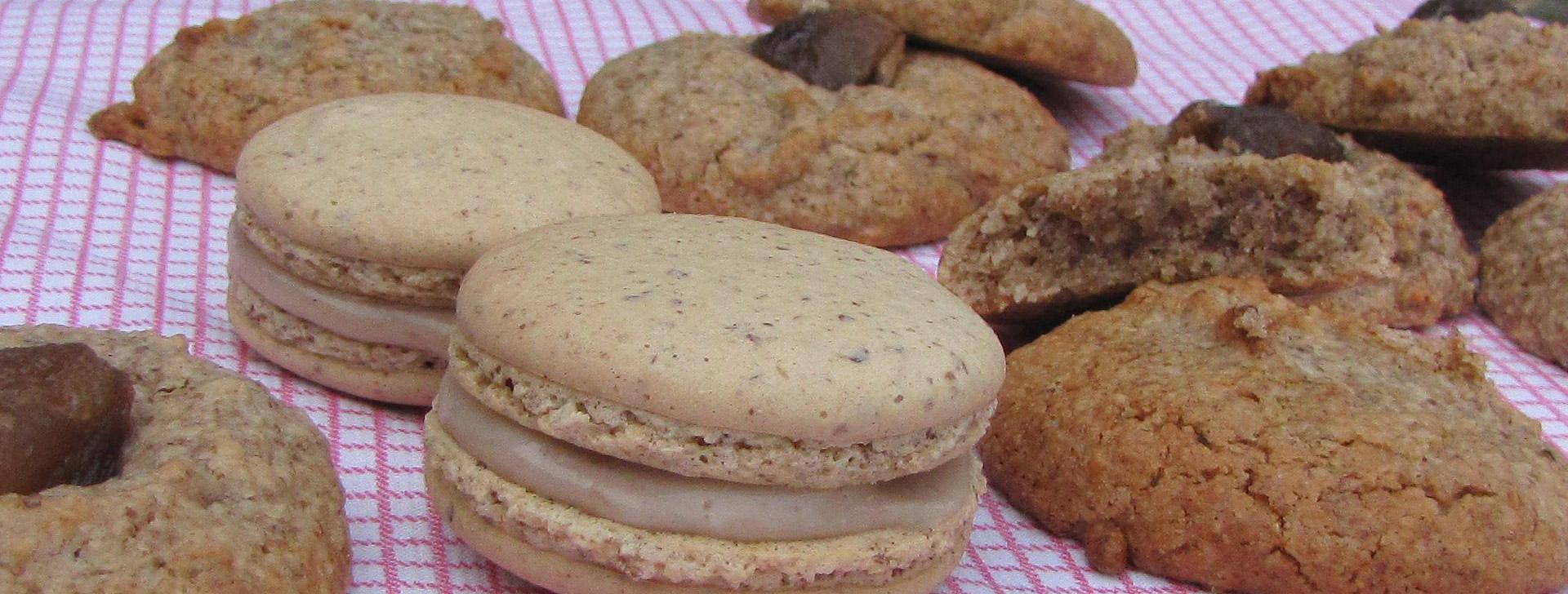 Passion-cevennes : biscuits sucrés à base de châtaigne cévenoles
