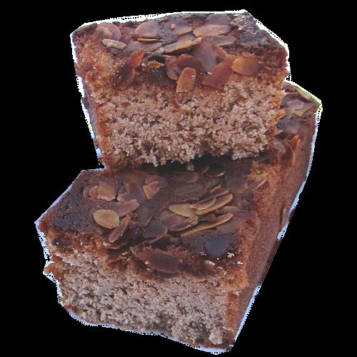 Gâteau moelleux à la châtaigne et aux amandes