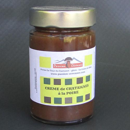 Crème de Châtaigne à la poire