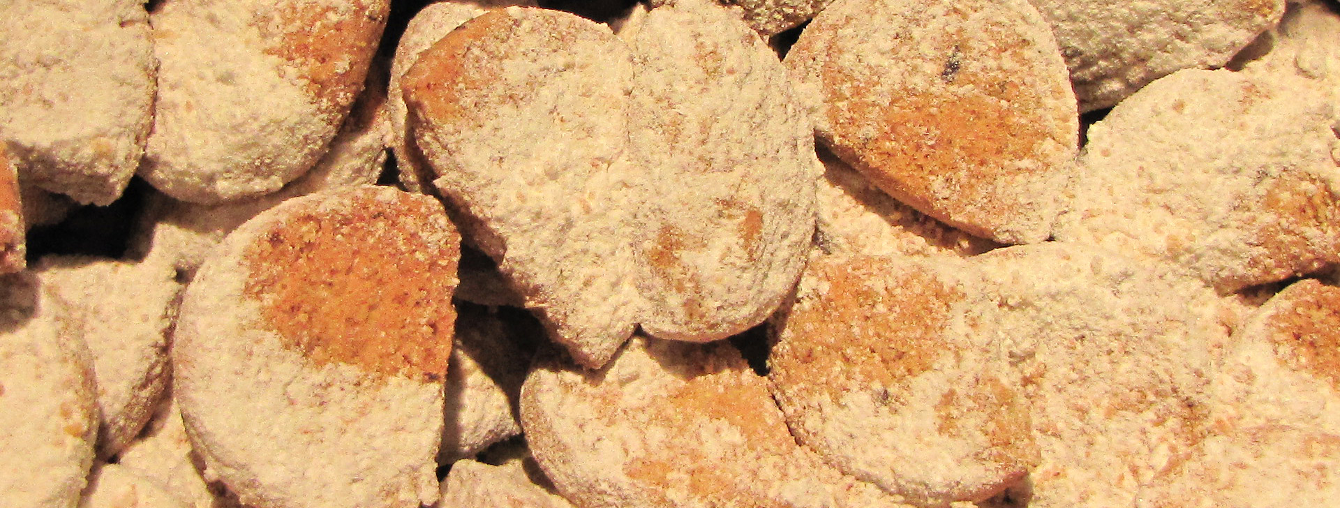 Présentation des biscuits salés et des châtaignades apéritives