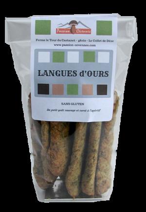 Langues d'Ours, biscuits salés