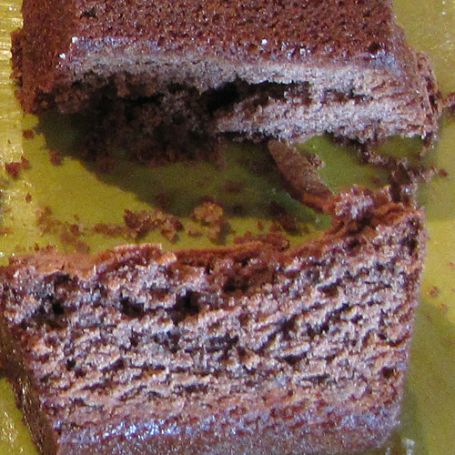 Gâteau moelleux à la châtaigne et au chocolat
