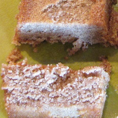 Gâteau moelleux à la châtaigne et noix de coco