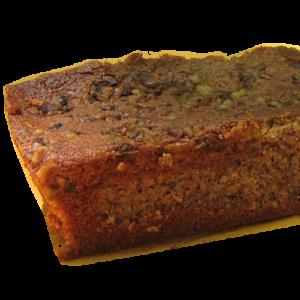 Gâteaux moelleux à la châtaigne et aux noix