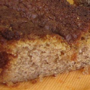 Gâteau moelleux à la châtaigne et au rhum