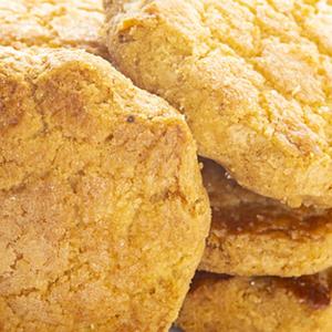 Biscuits sucrés mélangés