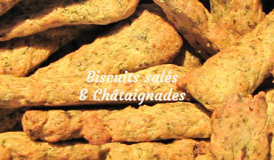 Lien vers les biscuits salés Châtaigne